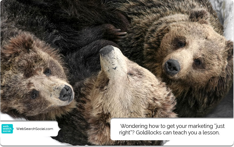 """Marketing In The Goldilocks Zone: How Do You Know When You've Got It """"Just Right""""?"""