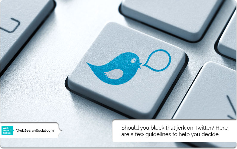 Online Social Etiquette: When To Block Someone On Twitter