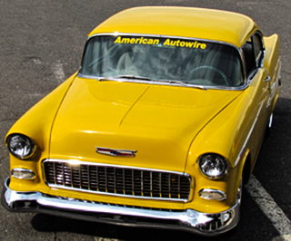 American Autowire Yellow Car