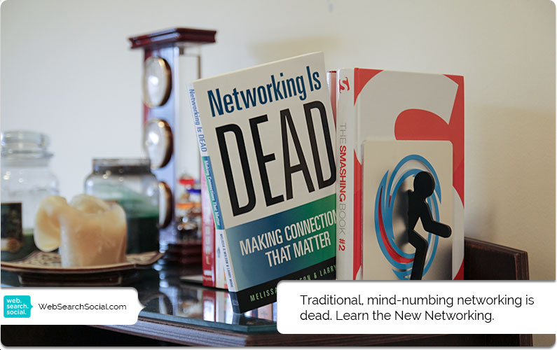 On The Bookshelf (Plus A Giveaway): Networking Is Dead By Melissa G. Wilson And Larry Mohl
