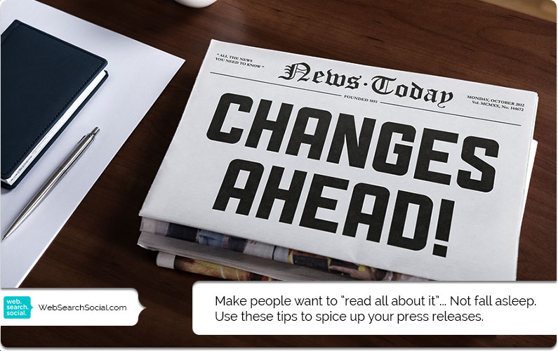 3 Tips For Writing A Better Press Release