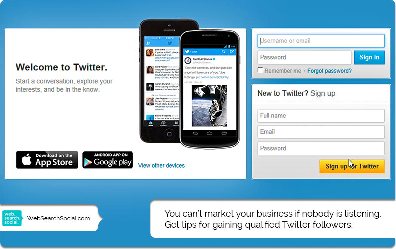 How To Gain Twitter Followers So You Can Successfully Market Your Business