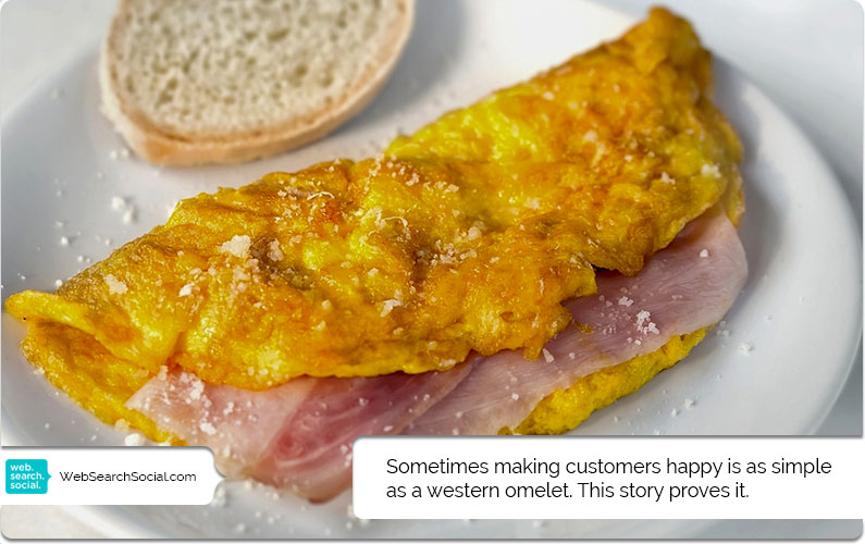Make Your Customers Happy By Giving Them A Western Omelet