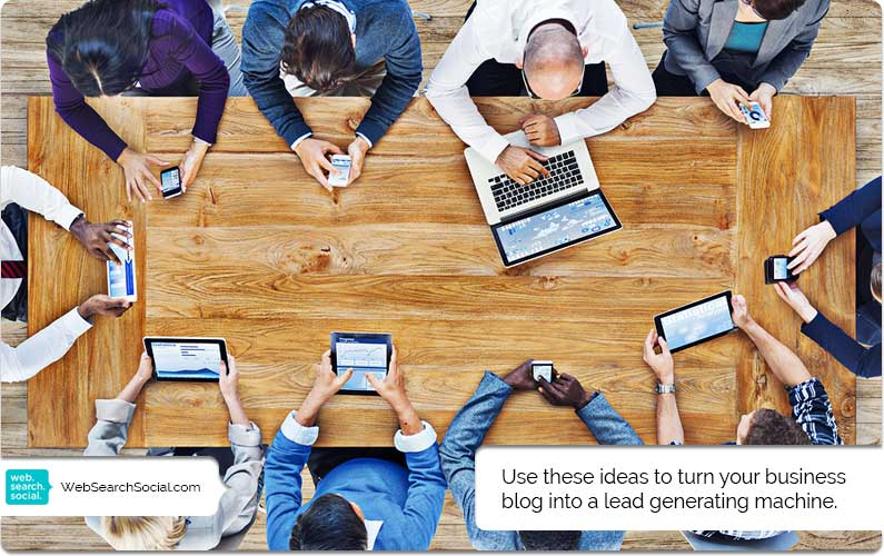 Your Business Blog Is Boring And Nobody Cares. Change That And Start Generating Leads.