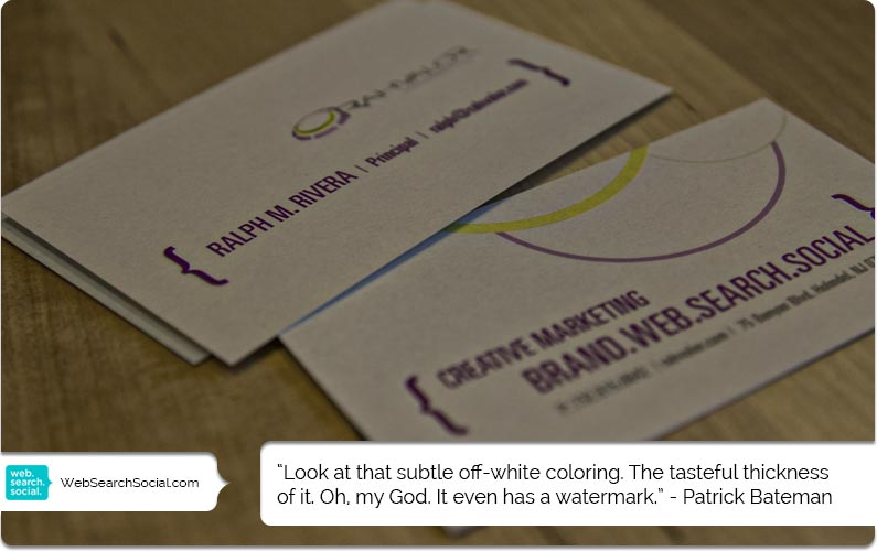 Business Card Marketing: Titles Don't Matter Except When They Do