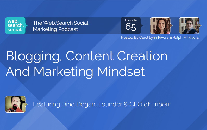 Blogging, Content Creation And Marketing Mindset