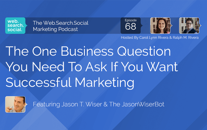 The One Business Question You Need To Ask If You Want Successful Marketing