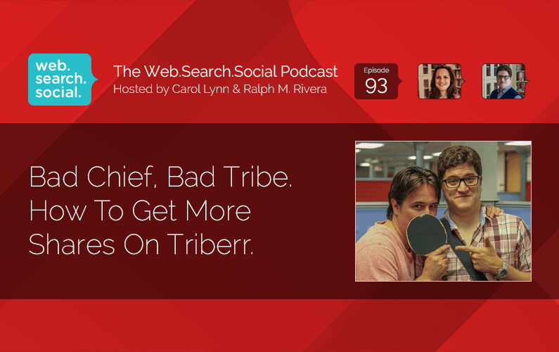 Bad Chief, Bad Tribe. How To Get More Shares On Triberr.
