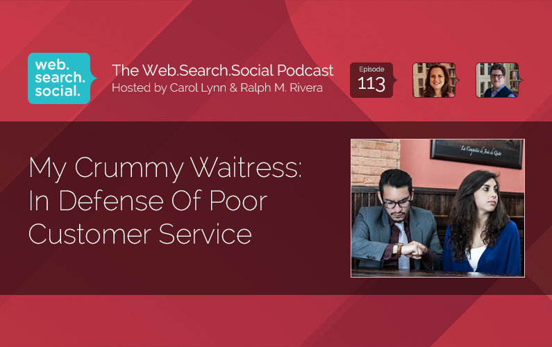 My Crummy Waitress: In Defense Of Poor Customer Service