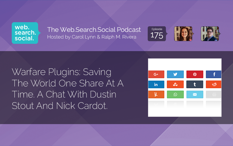 Warfare Plugins: Saving The World One Share At A Time. A Chat With Dustin Stout And Nick Cardot.