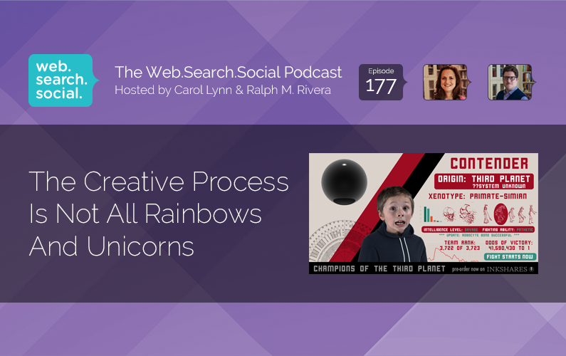 The Creative Process Is Not All Rainbows And Unicorns